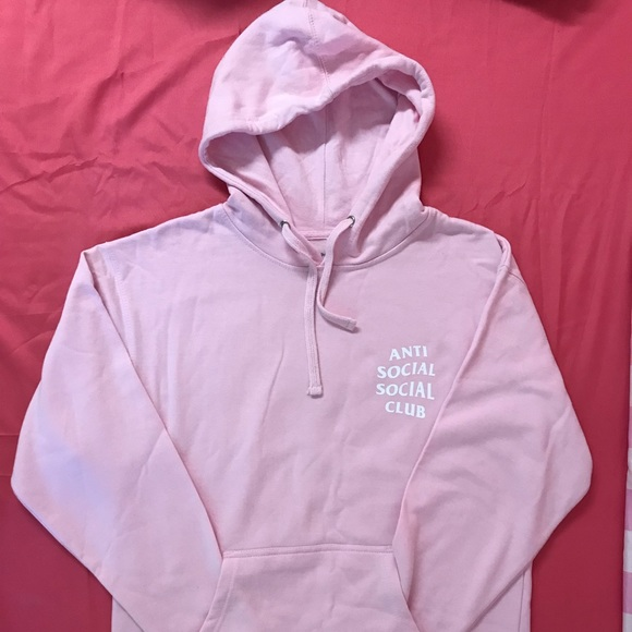 822f5a26c974 AntiSocialSocialClub  Know You Better Pink Hoodie